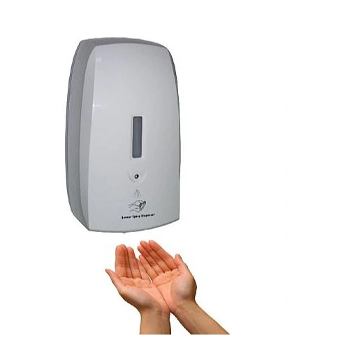 Automatic Hand Sanitizer Dispenser, Liquid Soap Dispenser Drop (Gel) /Spray with Sensor, Touchless for Office/Home/Restaurant/Hotel Fy-0043
